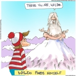 mar waldo finds self