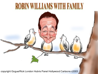 A Robin Williams Tribute Cartoons from 2003 by LTCartoons.com