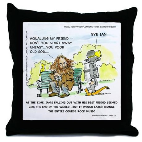 ad music aqualung pillow